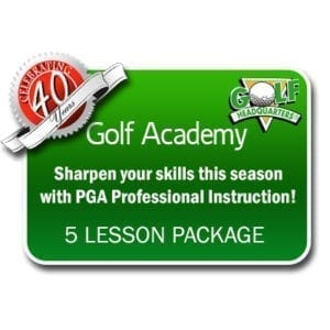 Individual Adult 5 Lesson Package