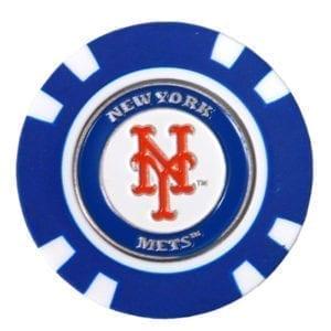 MLB Poker Chip Ball Markers
