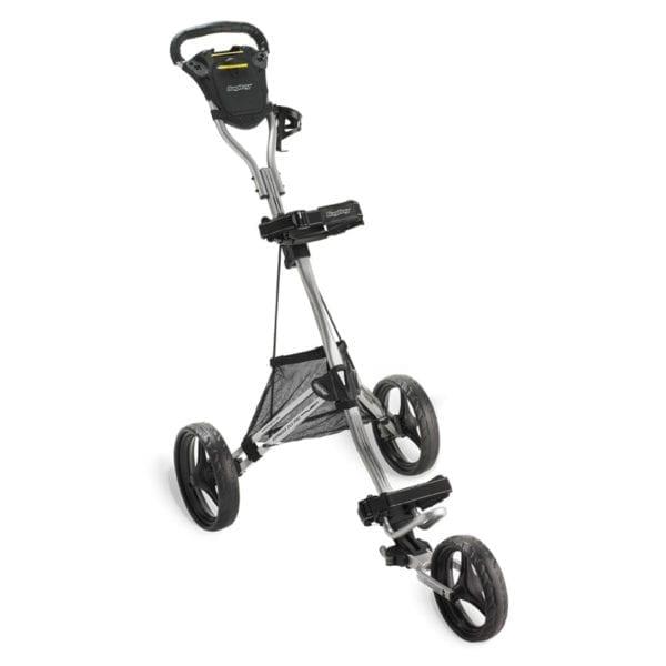 bagboy dlx pro cart silver black