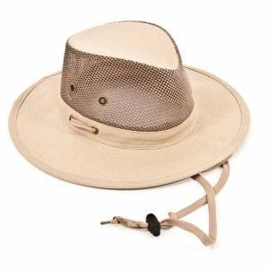 Dorfman Canvas Safari Hat