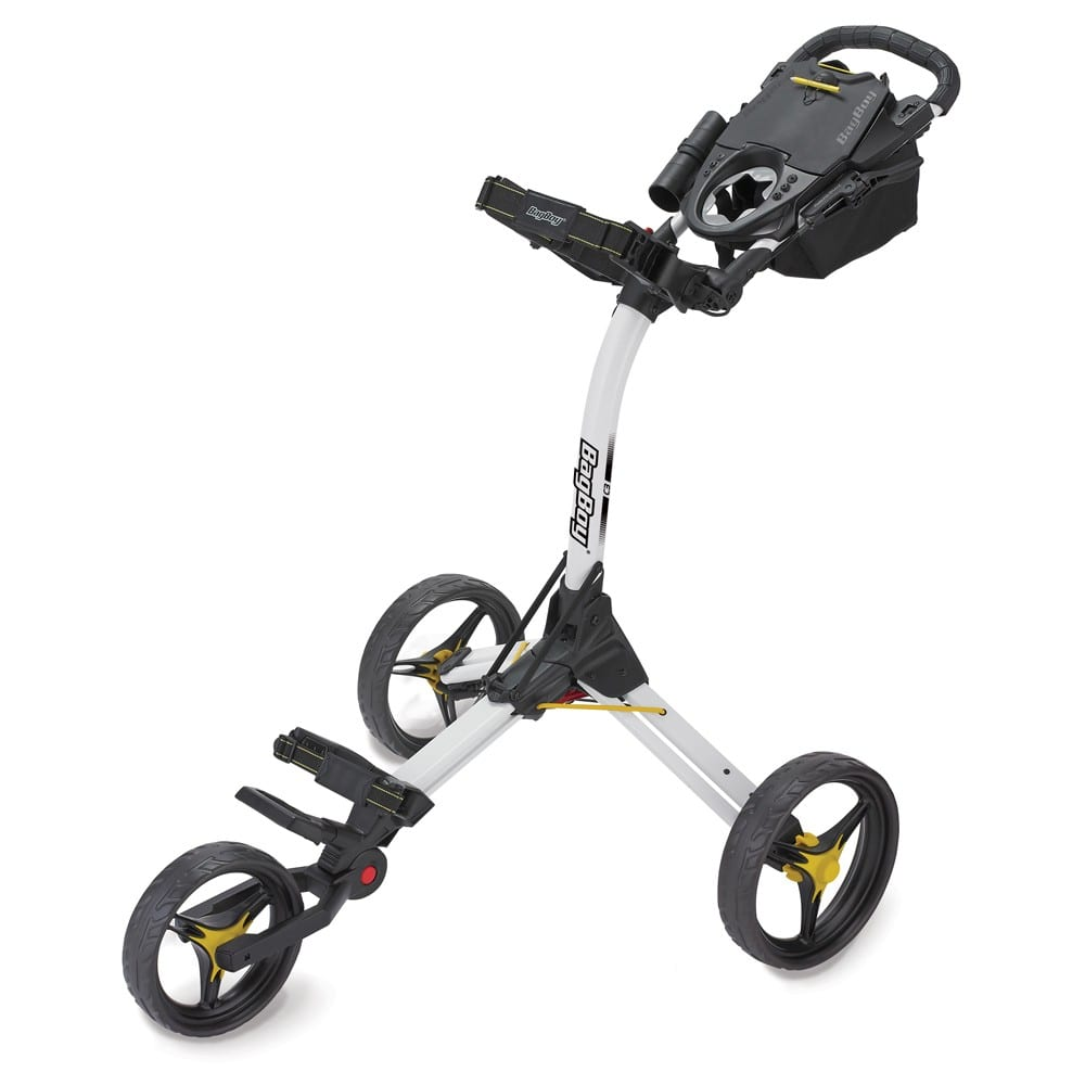 c3 push cart white