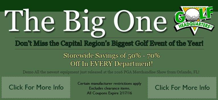 the big golf sale