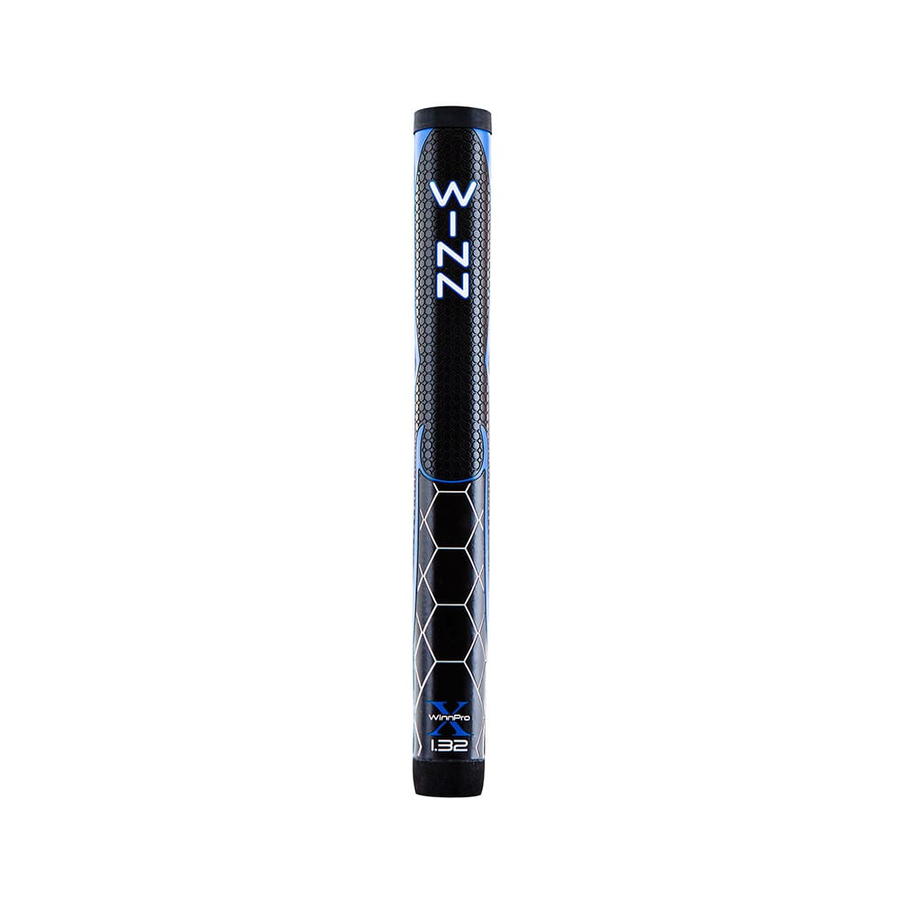 Winn Pro X 1.32 Jumbo Putter Grip - Black/Blue