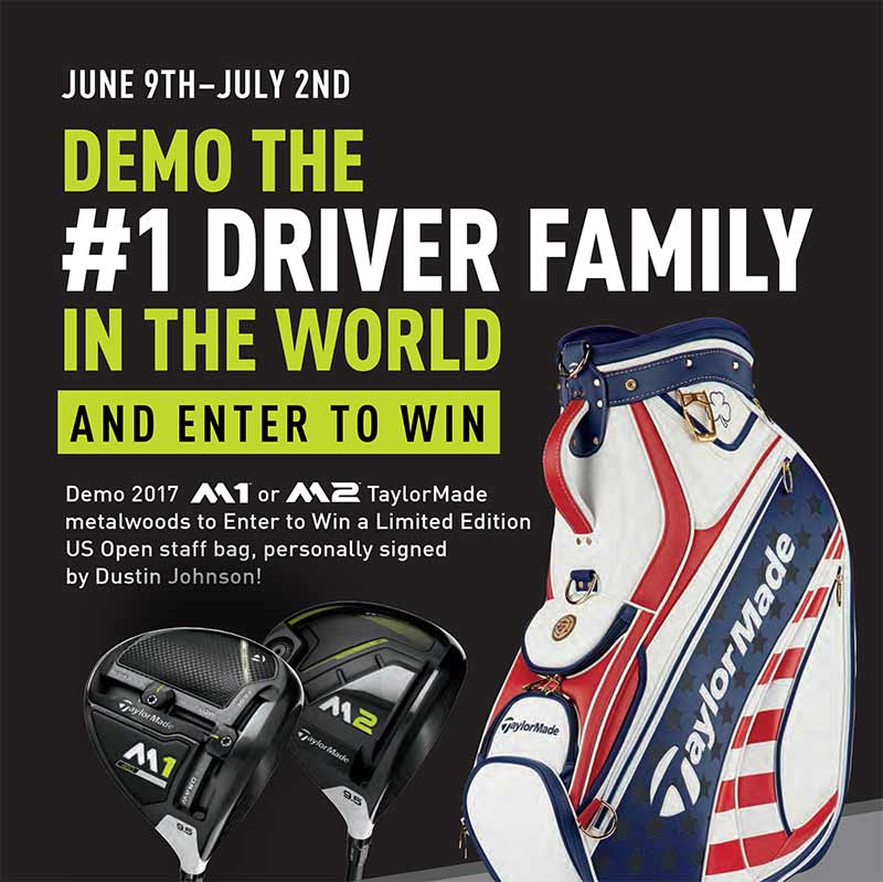 taylormade us open bag giveaway